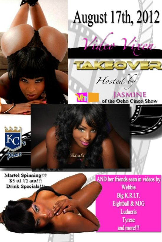 The Video Vixen Takeover at KC's Place